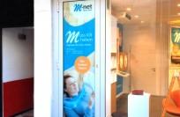 Schaukastenbeklebung | M-net