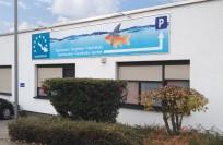Schilder | Tauchschule Grau