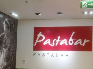 Pastabar Wandtattoo