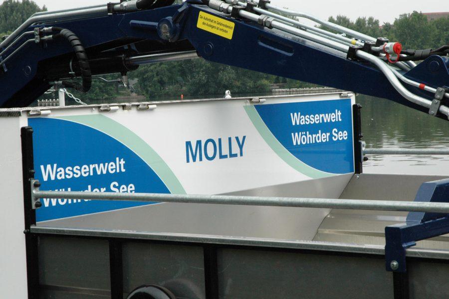 Schilderfolierung für die Wasserwelt Wöhrder See