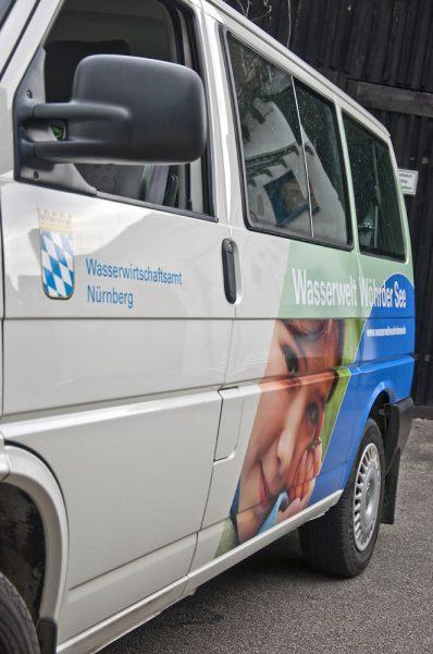 Partielle Vollfolierung für das Wasserwirtschaftsamt Nürnberg