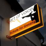Art of voice Leuchtkasten in 2 Farben