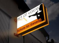 Leuchtkasten | Art of Voice