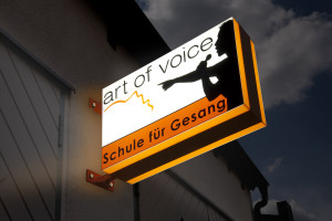 Art of voice Leuchtkasten in 2 Farben