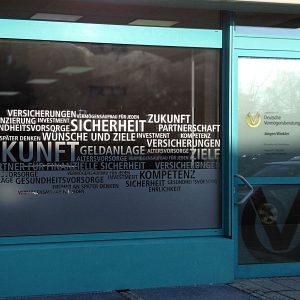 Schaufensterbeklebung Jürgen WInkler