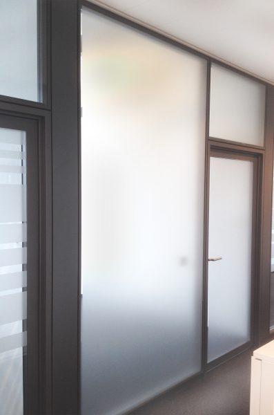 Folierte Abstellkammer Sichtschutz