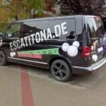 Nürnberg Autobeklebung seite