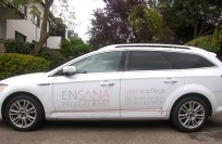 Fahrzeugbeklebung | Ensana Pflegedienst