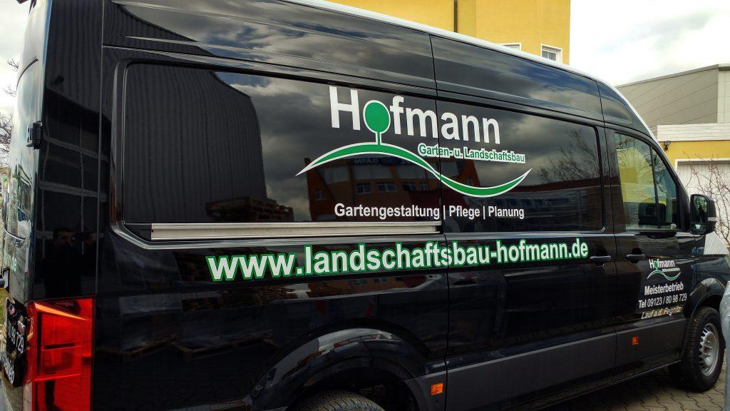 fahrzeugbeschriftung hofmann garten und landschaftsbau. Black Bedroom Furniture Sets. Home Design Ideas