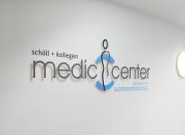 Schilder und Sichtschutz   Medic Center