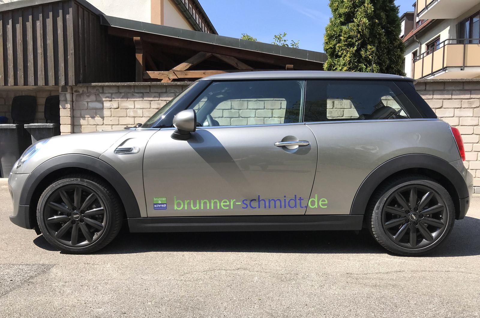Fahrzeugbeschriftung Brunner Und Schmidt Focus