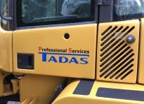 Beklebungsarbeiten | TADAS