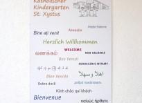 Schilder   Kindergarten St. Xystus