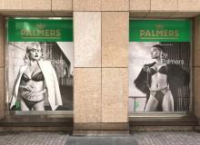 Schaufensterbeklebung | Palmers