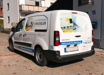 Fahrzeugbeklebung | Elektrotechnik Drechsler
