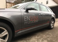 Fahrzeugbeklebung   Ensana Pflegedienst
