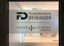 Sichtschutzbeklebung | Firmenberatung Deininger