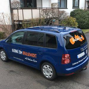 Fahrzeugbeklebung - 2-farbige Beklebung von Coach Andrea Korn
