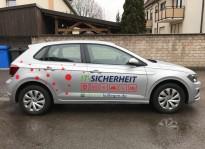 Fahrzeugbeschriftung   Brunner und Schmidt