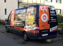 Fahrzeugfolierung |  KiKi Umzüge & Transporte