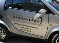 KFZ-Beklebung | Praxis Dr. Ludwig