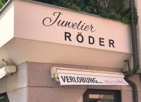 Fassadenbemalung | Juwelier Röder