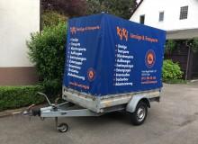 Anhängerbeklebung | KiKi Umzüge & Transporte