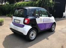 Fahrzeugfolierung | Spätsommer Pflegedienst