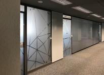 Sichtschutzbeklebung | Design Offices
