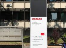 Stelen Beschriftung | Design Offices