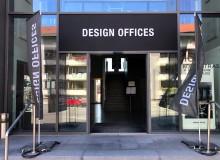 Oberlicht-Aufkleber | Design Offices