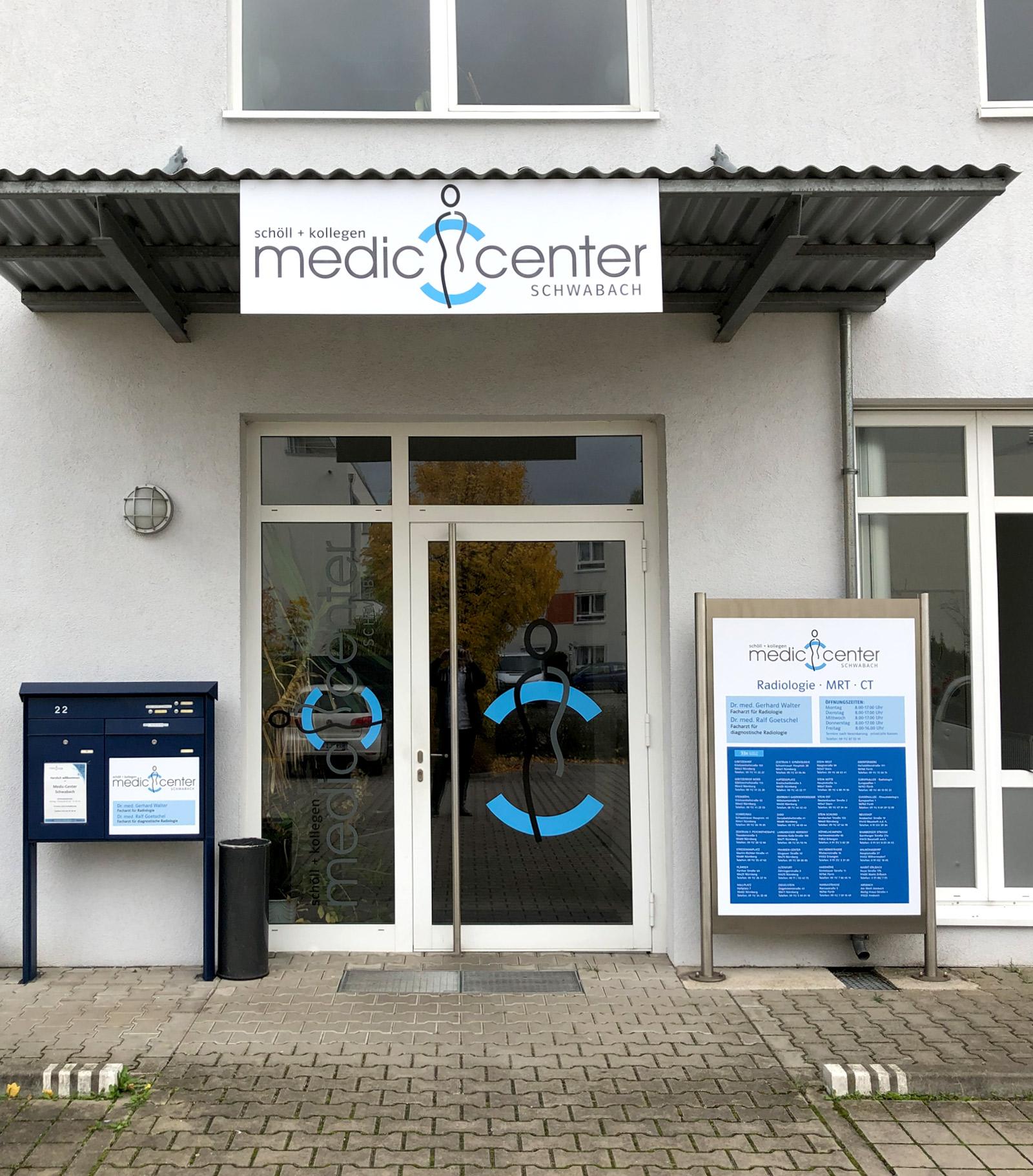 Eingangsbereich eines Medic Centers