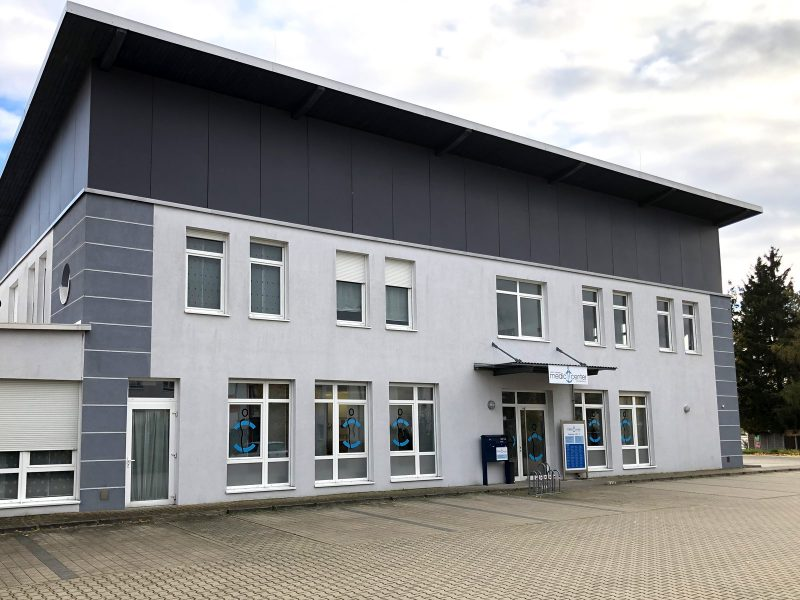 Praxis-Beklebung - Medic Center Nürnberg in Schwabach