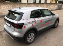 Fahrzeugbeschriftung | Brunner und Schmidt