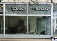 Schaufenster-Folierung | Hot Rod Fun