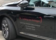 Fahrzeugbeschriftung | Zahnarztpraxis Dr. Ludwig und Kollegen