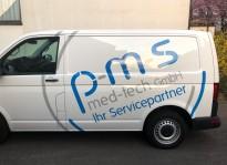 Fahrzeugbeklebung | p-m-s med-tech