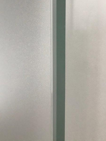 Türfolierung - Nahaufnahme der folierten Türseite