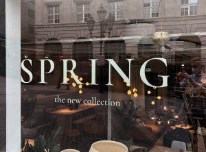 Schaufensterbeklebung - Spring 2021 für Bolia in Nürnberg
